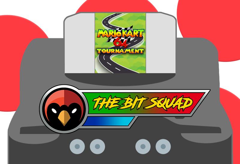 The Bit Squad - Turing Tap - 22 Sep 21 - Mario Kart 64 Tournament - Red Cardinal Music