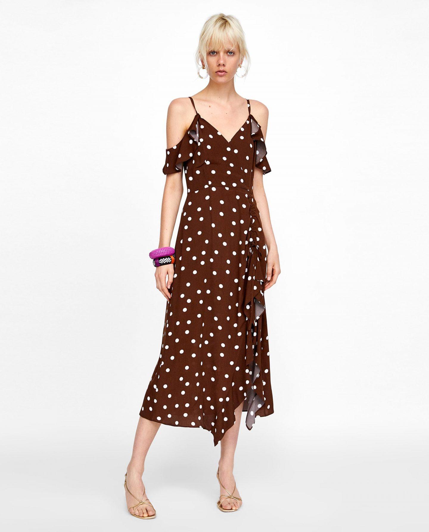 Wedding wear polka dot