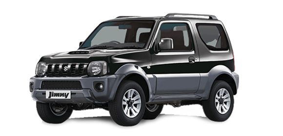 Suzuki Jimny to hire in Crete