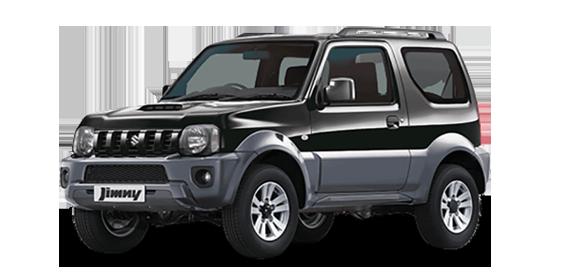 Suzuki Jimny to hire in Crete