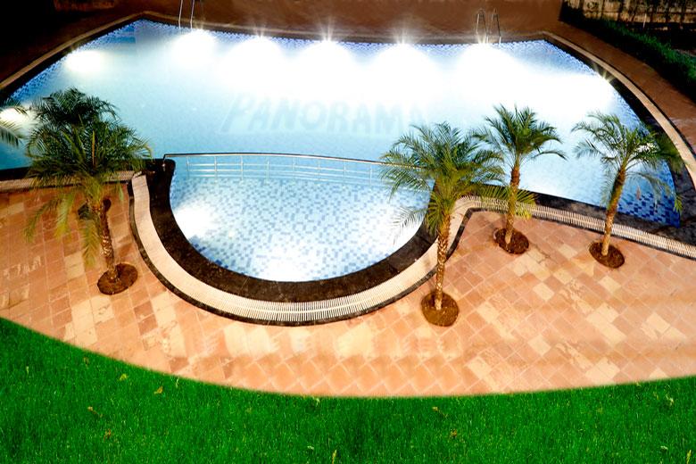 Swimming Pool @ Corbett Panorama Resort