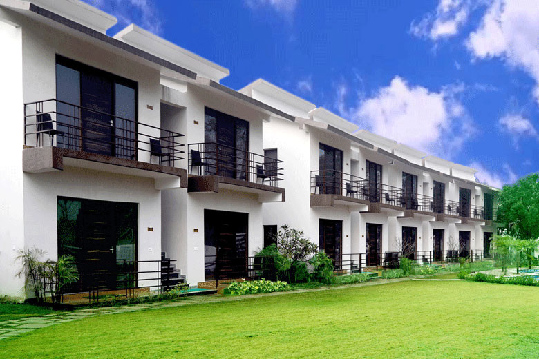 Poolview rooms @ Corbett Panorama Resort