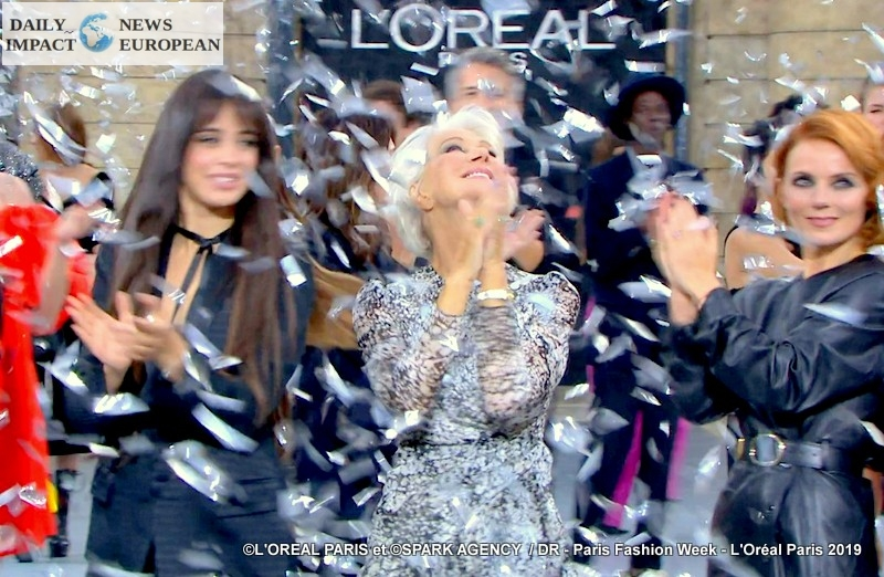 Paris Fashion Week: L'Oréal Paris presented the 3rd edition of fashion and beauty