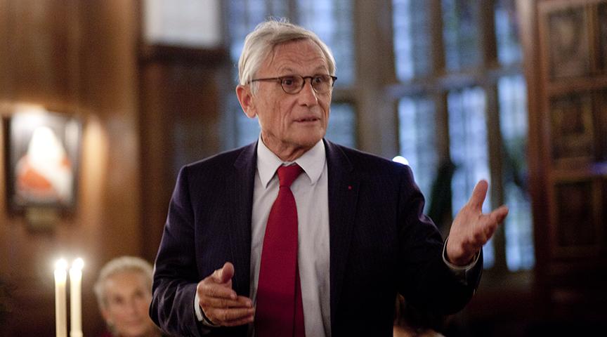 Bernard Vatier President FBLS AJFB (2014) (c) Alexander McIntyre