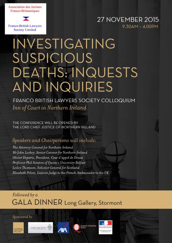 FBLS 2015 NI Colloquium Suspicious Deaths v3