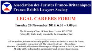 Legal Careers Forum @ The University of Law | England | United Kingdom