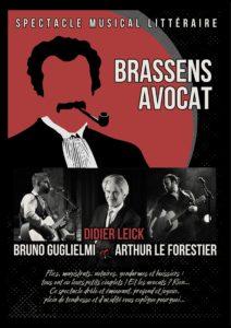 Brassens avocat - Spectacle musical et littéraire @ Saint Stephen's Church
