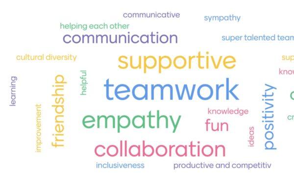 Customer Success team wordcloud