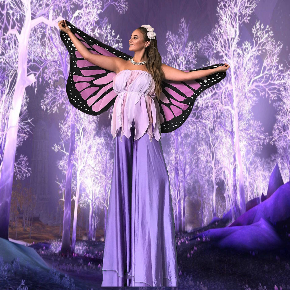 Stilt Walking Fairy
