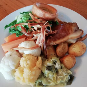 Sunday Lunch at the Greyhound Keymer