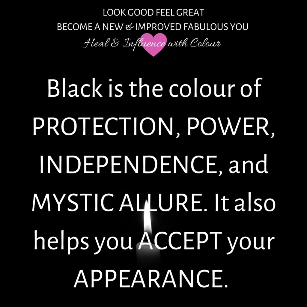 black-is-the-colour-of-protection-power-independence-and-mystica-allure-it-also-helps-you-accept-your-appearance-nonverbal-tip-with-good-looks-bible-glb-by-jehan-mir