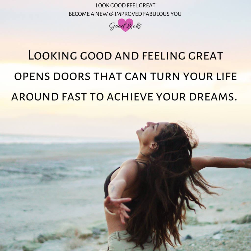 looking-great-and-feeling-great-opens-doors-that-can-turn-your-life-around-fast-to-achieve-your-dreams-style-tip-with-good-looks-bible-glb-by-jehan-mir