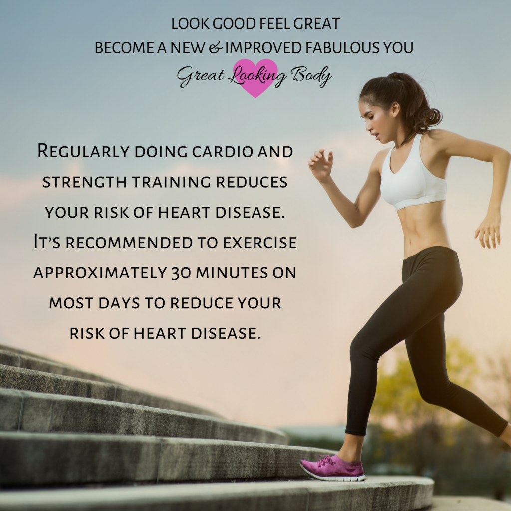 regular-cardio-strength-training-reduces-risk-of-heart-disease.exercise-approximately-30-minutes-fitness-tips-with-good-looks-bible-glb-by-jehan-mir