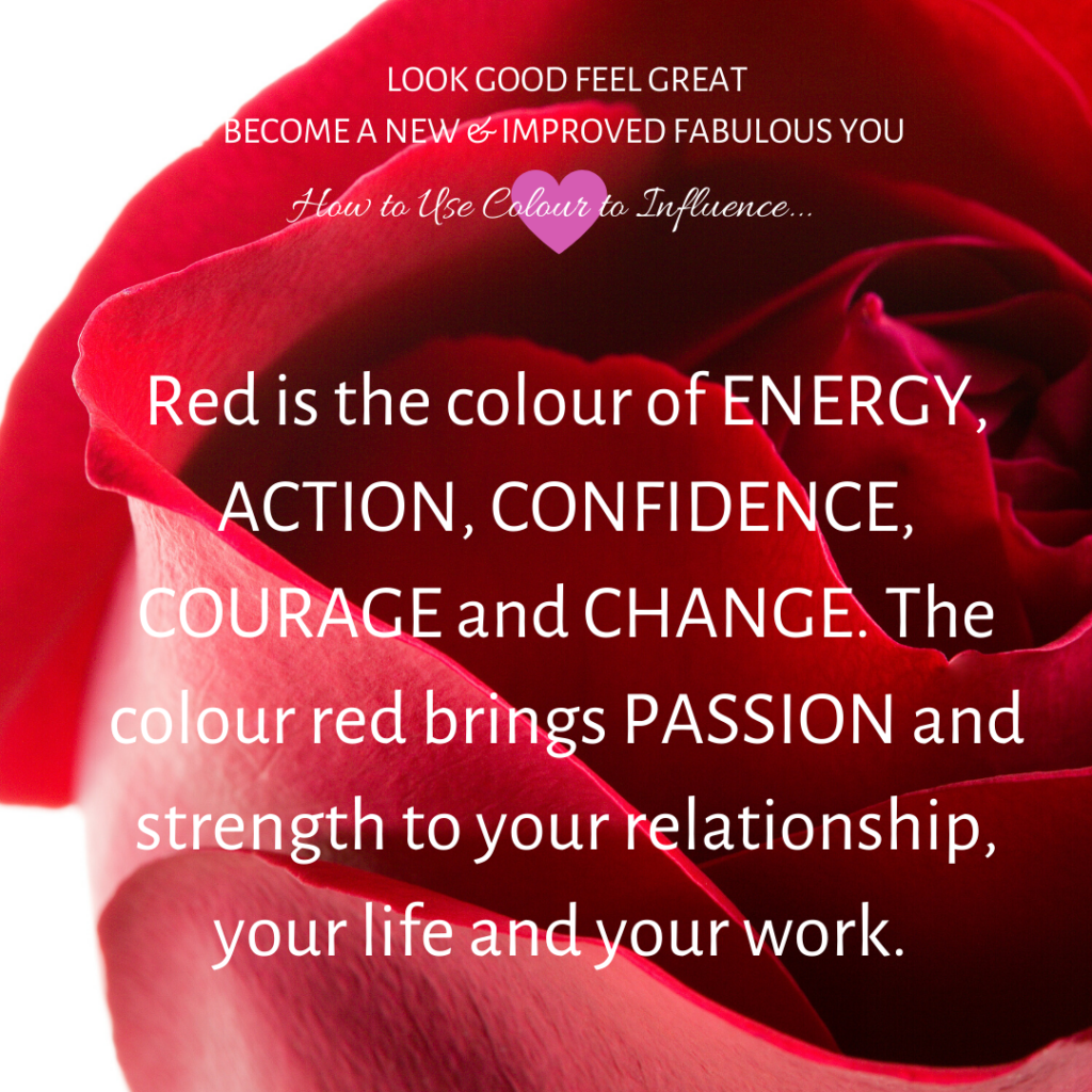 red-is-the-colour-of-energy-action-confidence-change-it-brings-passion-and-strength-to-relationship-life-work-nonverbal-communication-tips-with-good-looks-bible-glb-by-jehan-mir
