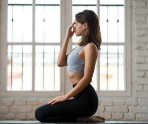 breathe properly during meditation