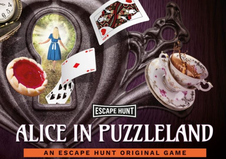Escape Hunt : Alice in Puzzleland