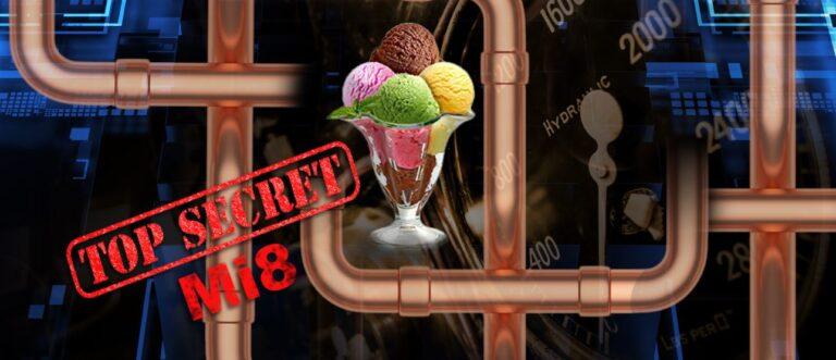 Escape at the Works : MI8 Ice Cream