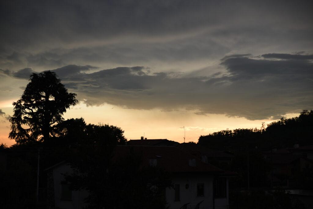 the sky In Italy