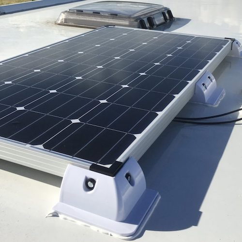 Approved Mobile Workshop -Solar Panels