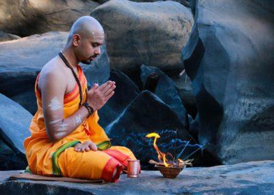 Yoga Oil with Yogi Trupta, India Goa