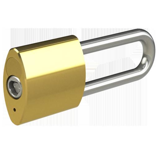 Brass Padlock, 10mm, 3 inch