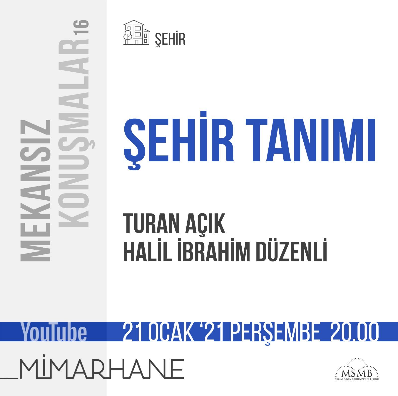 Turan Açık | Halil İbrahim Düzenli | 21 Ocak 2021