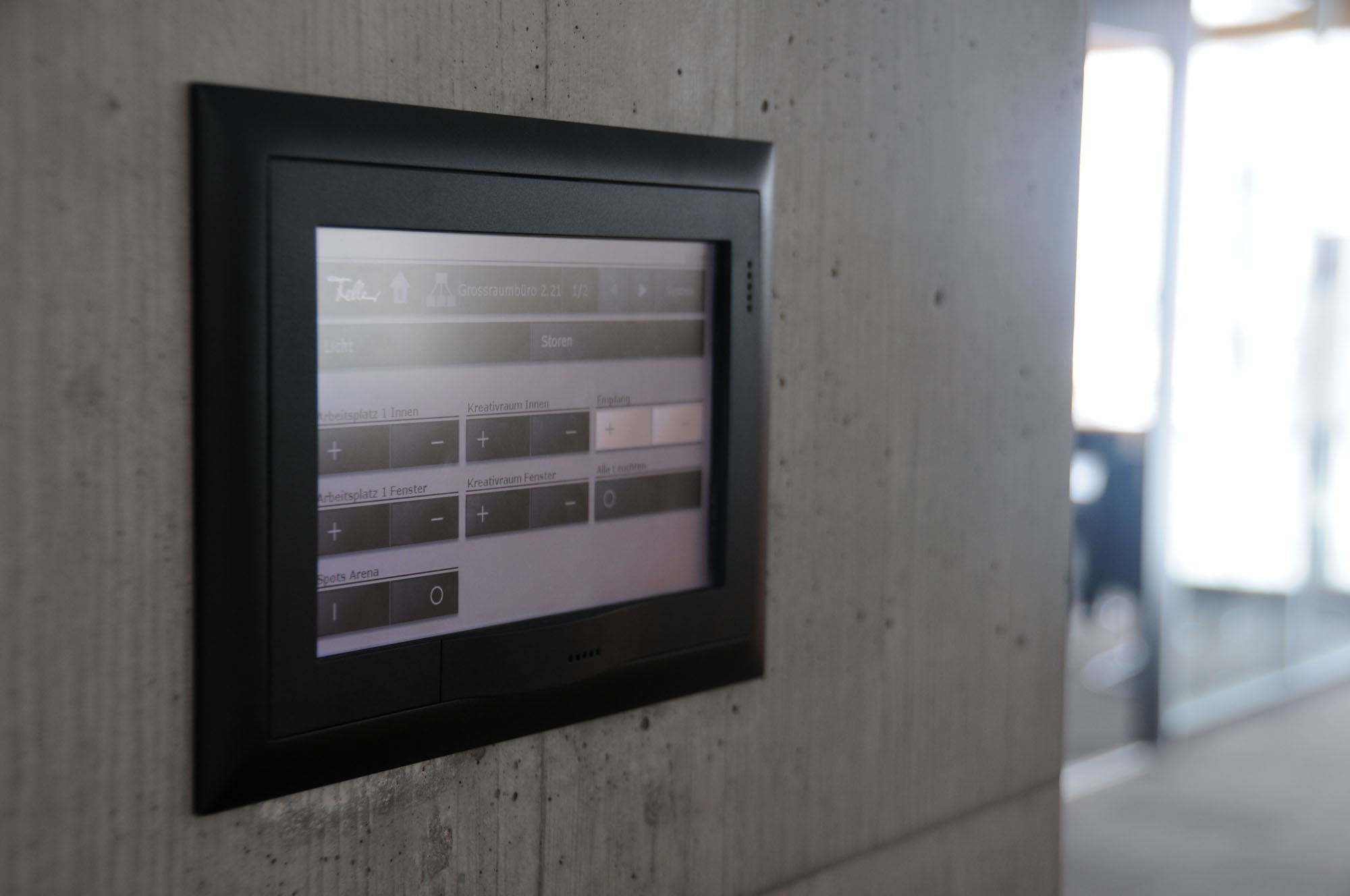 Automation Wandsteuerung