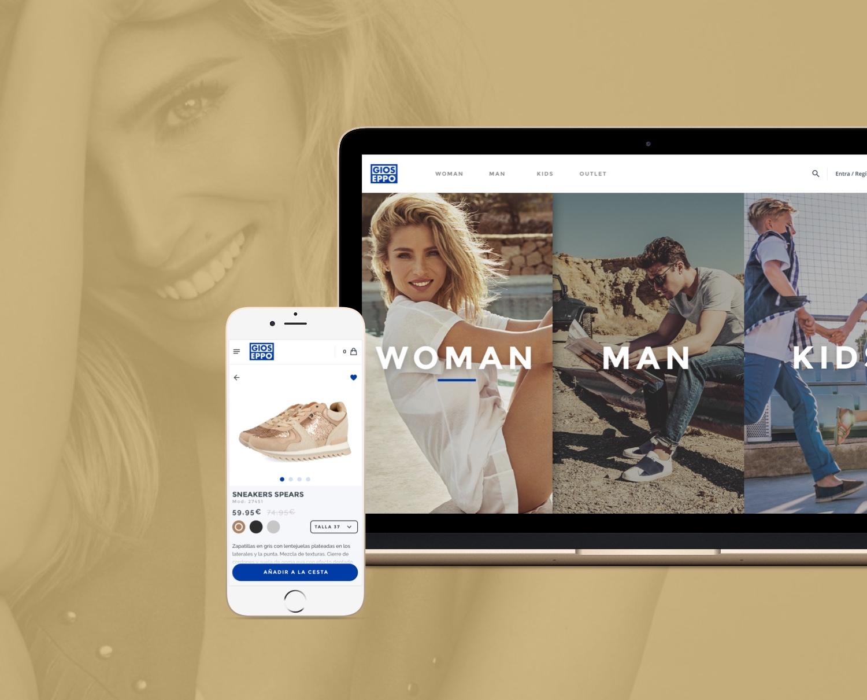 Gioseppo — E-Commerce redesign