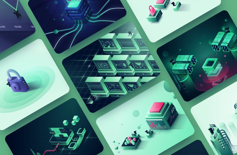 Gremlin — Marketing illustrations