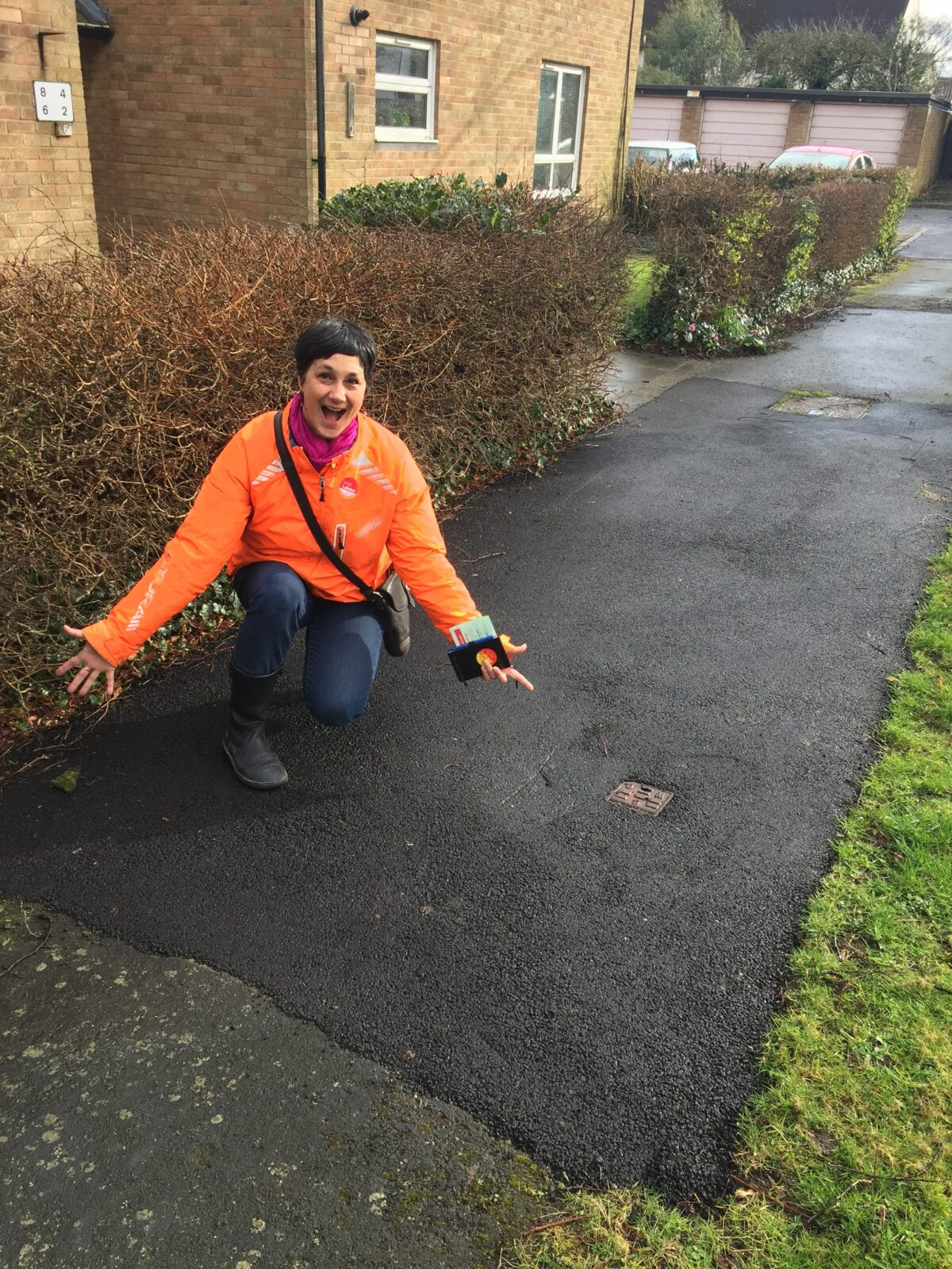 Let's get our pavements sorted!