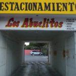 1.- Estacionamiento Los Abuelitos - Entrance