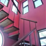 24.-Casa Lavanda - Stair to the roftop palapa