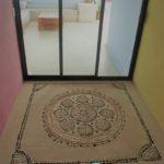 25.-Casa Lavanda - Roftop palapa entrance floor design