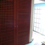 8.- Oficinas con bodega - Oficce & door to the Service patio