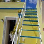 20.- Casa Pecesitos - Stairway to roof terrace