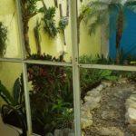 23.- Casa Pecesitos - Entrance to inner garden