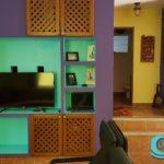 7.- Casa Pecesitos - TV room