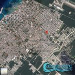 3 - Terreno Benito Juarez - map large Cozumel