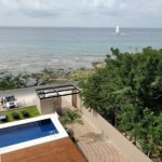 18.- DEPTO SUNSHINE -Pool view from 4th floor