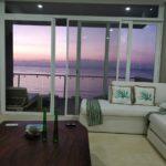 6.- DEPTO SUNSHINE - Living room sunset