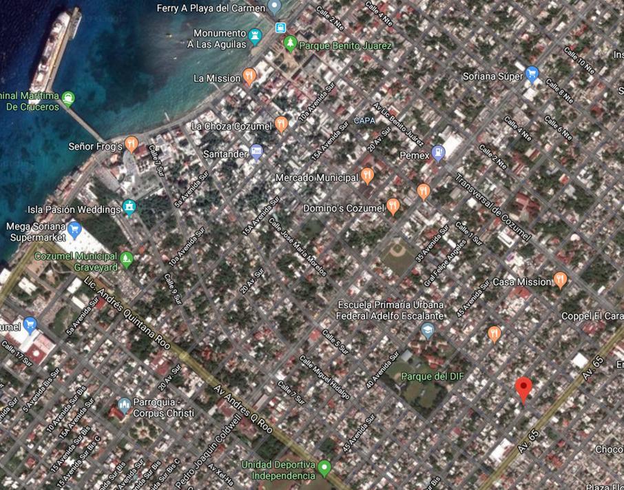 Lote Morelos x 60 Avenida - map 2