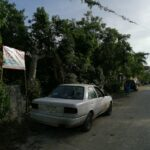 5.- Terreno Ranchito Don Raul - view to the right of street
