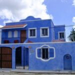 1.-Casa Hacienda Azul - Frontview