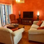 2.-Casa Hacienda Azul - Living Room
