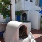 21.- Villa Ana Maria - Terrace fireplace
