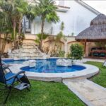 16.-Villa Frida - Palapa and swimming pool