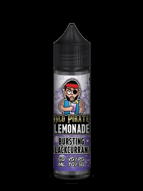 e-liquid bottle: Old Pirate Lemonade BURSTING BLACKCURRANT 60ml shortfill