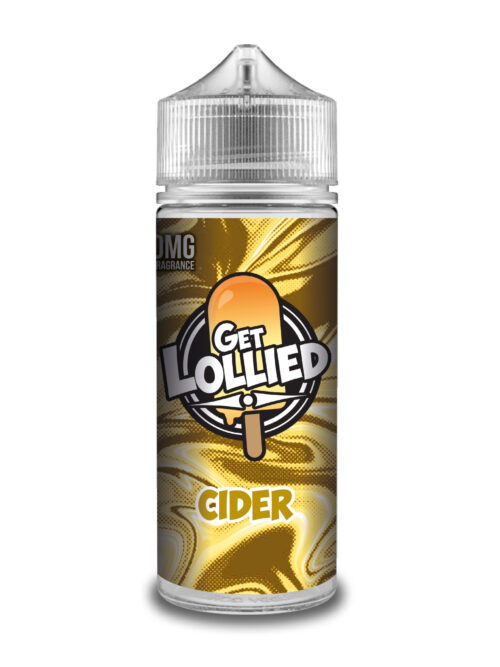 e-liquid bottle: Get Lollied Cider 120ml Shortfill