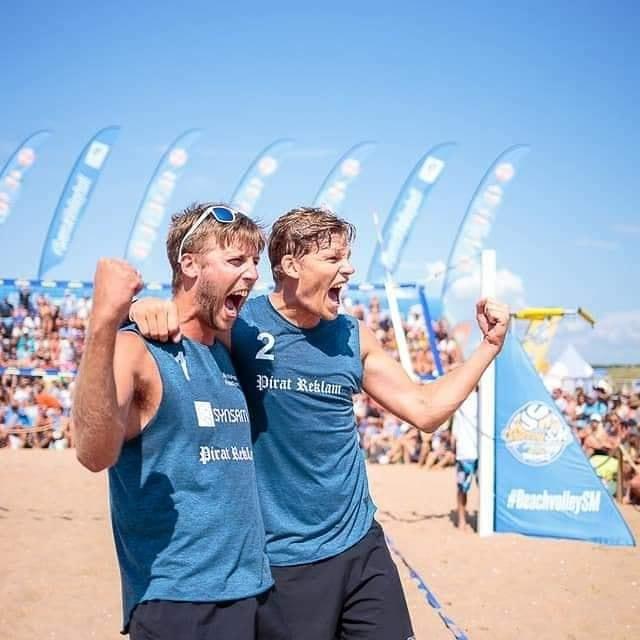 Svenska Mästare i beachvolley 2019
