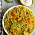 Coconut Mint Based Vegetable Biryani